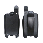 Cellular Accents Holster for LG LX160 (Black)
