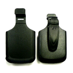 Cellular Accents Holster for BlackBerry Torch 9800 (Black)