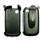 Cellular Accents Holster for Samsung Messeger Touch R630 / R631 (Black)