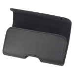 Reiko - Horizontal Pouch for Apple iPhone  4G - Black