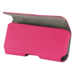 Reiko - Horizontal Z Lid Leather Pouch for SAMSUNG GALAXY S III I9300 - Hot Pink