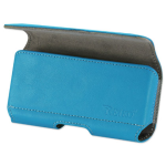 Reiko - Horizontal Z Lid Leather Pouch for SAMSUNG GALAXY S III I9300 - Navy