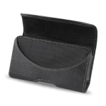 Reiko - Horizontal Pouch for Blackberry 8330 - Black