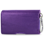 Reiko - Horizontal Pouch HP146 for Blackberry 8330 - Purple
