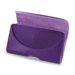 Reiko - Horizontal Pouch HP146 for HTC HD2 T8585 PLUS - Purple