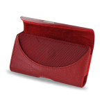 Reiko - Horizontal Pouch HP146 for HTC HD2 T8585 PLUS - Red