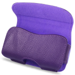 Reiko - Horizontal Pouch for Blackberry 8330 - Purple