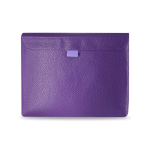 Reiko Premium Horizontal Tablet Pouch for All iPad - Purple
