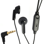 Sony Ericsson W850 W850I W700 W700I Z520 Z520a T250 T250a W900i OEM HPM-60 Stereo Earbud Hands-Free - Black