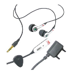 OEM Sony Ericsson HPM-70 Stereo Headset for K510a K550i K790a M600i P990i W200a W300i W580i W600 W610i - Gray
