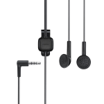 Nokia WH-102 HS-125 Stereo Headset - 3.5mm Universal - Black