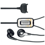 Nokia Fashion Stereo Headset HS-31 - Black