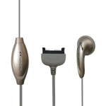 Nokia HS-5 Pop-Port Earbud Headset for 3600, 6600, 6260, 3220, 5140, 5140i, 6060, 6061, 6062, 7260, 6120 Classic, 5100