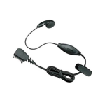 Nokia HS-5 Earbud Headset with Answer / End Button - Black