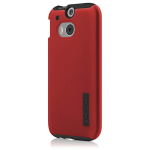Incipio DualPro Shock-absorbing Case for HTC One M8 - Red/Black