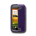 HTC ONE S OTTERBOX DEFENDER CASE - ORCHID GRAY AND PURPLE - RETAIL PACKAGED (660543012276)
