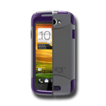 HTC ONE S OTTERBOX COMMUTER CASE - ORCHID GRAY AND PURPLE - RETAIL PACKAGED (660543012450)
