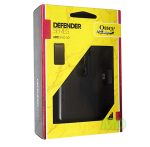 OtterBox Defender Series Hybrid Case and Holster for HTC EVO 3D (Black)