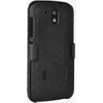 Verizon Shell Holster Combo Case with Kickstand for HTC Desire 526 - Black