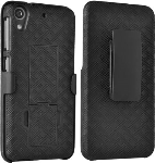Shell Holster Combo with Kickstand for HTC Desire 626