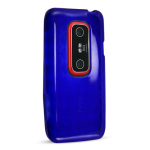 Technocel Slider Skin Case for HTC EVO 3D - Blue