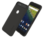 Incipio DuapPro Shock-absorbing Case for Huawei Nexus 6P - Black/Black