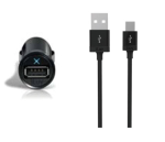 iLuv - USB Car Charger Kit with 3-ft Micro-USB Sync/Charge Cable
