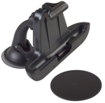 iBolt PerfektFit Charging Cradle with ROK Solid Mount for HTC One X - Black