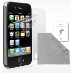 iLuv Glare Free Screen Protector 2 Pack for iPhone 4