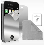 New iLuv Mirrored Screen Protector 2 Pack for iPhone 4