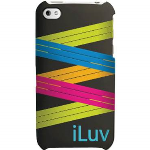 ILUV Zig Zag Case. Solid Silicone with aZig Zag pattern. Black