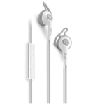 iLuv IEP415WHT Fitactive iPad/iPhone/iPod High-Fidelity Sports Earphones with SpeakEX Remote (White)