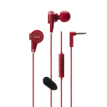 iLuv ReF High-Fidelity StereoEarphones with SpeakEZ Remote (Red)
