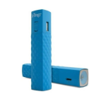 Ifrogz GoLite 2600mAh Back Up Battery + Flashlight for USB Devices (Blue)