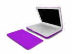 Incipio Feather Ultralight Hard Shell Case for MacBook 13-inch White Unibody - Purple