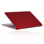 Incipio Feather Ultralight Hard Shell Case for MacBook Air 11 inch - Matte Iridescent Bright Red