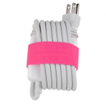 Incipio Block Bands for 60W Power Adapter for 13'' MacBook/MacBook Pro - Neon Pink