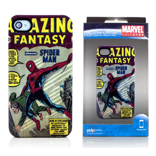 PDP Marvel Iconic Cover Series Case for iPhone 4 / 4S (Spider-Man)