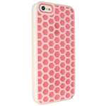 Technocel Honeycomb Hybrigel for Apple iPhone 5 - Pink/White