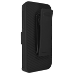 Technocel Shield Holster Combo for Apple iPhone 5 / 5S / 5SE - Black