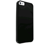 Technocel Solid TPU Slider Skin for Apple iPhone 5 - Black