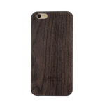 3D Knight Real Wood Protector Case for Apple iPhone 6 Plus (Walnut Wood/Black Polycarbonate)