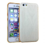Unlimited Cellular iPhone 6/6S Novelty Case-White Wood Design
