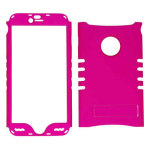 Rocker Series Snap-On Protector Case for Apple iPhone 6 Plus (Fluorescent Pearl Purple)