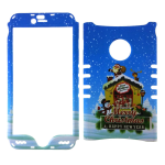Rocker Snap On Case for Apple iPhone 6 Plus - Christmas Design