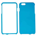 Snap-On Protector Case for Apple iPhone 6 Plus (Fluorescent Solid Light Blue)