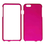 Snap-On Protector Case for Apple iPhone 6 Plus (Rubberized Honey Hot Pink)
