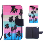 Wallet Diary Protector Case for Apple iPhone 6 Plus (Coconut Palm)