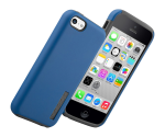 Incipio DualPro Shock Absorbent Case for Apple iPhone 5C - Navy Blue/Gray