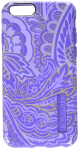 Incipio DualPro Shock Absorbing Prints Case for Apple iPhone 6/6s - Purple Paisley
